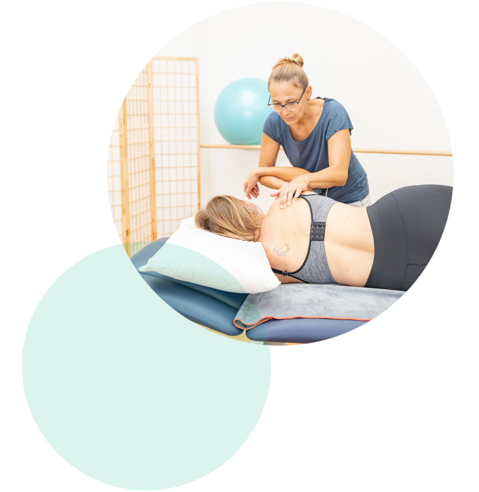 Massage des Schultergürtels in der Physiotherapie